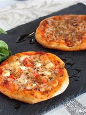 Pizza gruyère